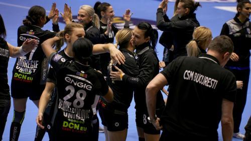 Victorie importantă pentru CSM București în Liga Campionilor