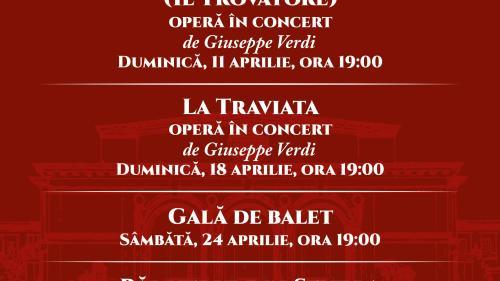 Stagiune online, în programul Operei Naționale București din luna aprilie