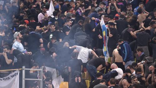 """Big Brother pentru """"UEFA 2020"""", în București: recunoașterea huliganului în două secunde"""