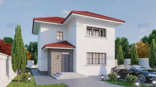 6 soluții pentru o casa pe teren mic sau îngust