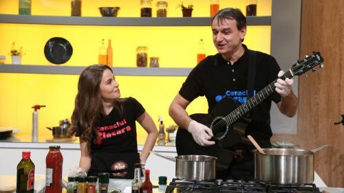 Chef Bontea şi-a adjudecat aseară o nouă amuletă  Andrei Păunescu şi Maria Măgirescu, invitaţi speciali diseară la Chefi la cuţite