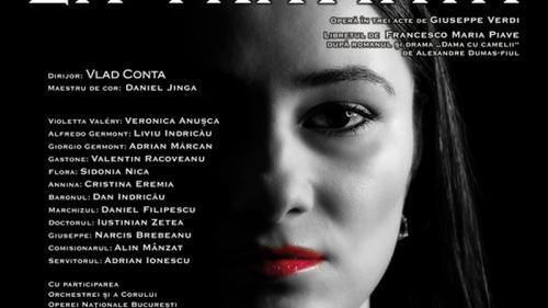 """""""La Traviata"""", operă în concert, transmisă online de Opera Națională București"""