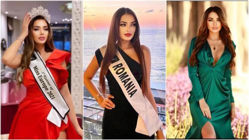 """Iolanda Anamaria Babău, locul doi la Miss Europe 2021: """"Pe lângă aspectul fizic, personalitatea contează mult"""""""