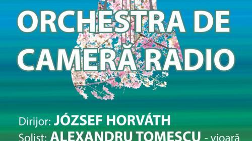 ALEXANDRU TOMESCU va cânta MENDELSSOHN pe vioara STRADIVARIUS Elder-Voicu,  concert transmis LIVE de la SALA RADIO