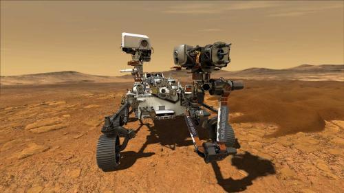 Roverul Perseverance a produs oxigen pe Marte
