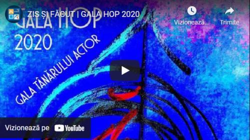 """Documentarul TV GALA HOP 2020. """"ZIS ȘI FĂCUT"""""""