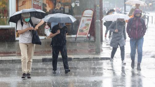 Prognoză specială pentru București: Ploi și vijelii până vineri seară