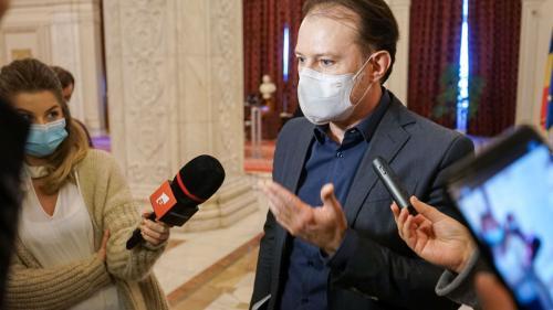 Premierul Florin Cîțu nu excude să prezinte Parlamentului PNRR
