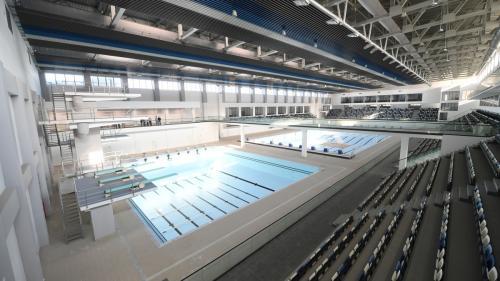 A fost inaugurat Complexul olimpic de natație de la Otopeni