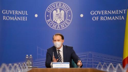 Cîțu anunță ședință de guvern pentru eliminarea unor restricții