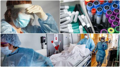 Coronavirus. Numărul deceselor asociate COVID depășește iar 100
