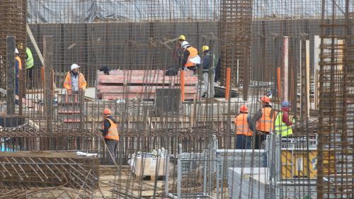 Volumul lucrăriilor în construcții a crescut cu 1,2% de la începutul anului
