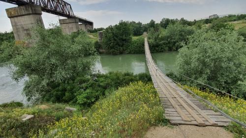 """Podul prăbușit de la Grădiștea trimite pe o rută ocolitoare """"Anul european al căilor ferate"""""""