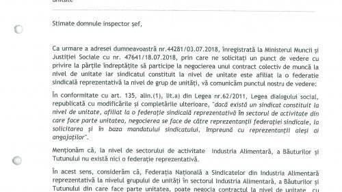 La Inspectoratul Teritorial de Munca Bucuresti respectarea decizilor judecatoresti este facultativa