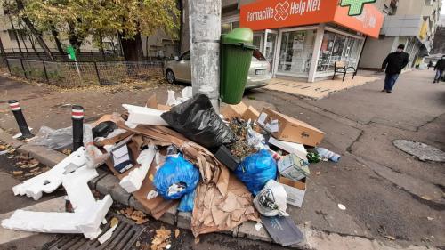 Criza gunoiului din Sectorul 1. Operator de salubritate: Situația de blocaj a fost dezamorsată