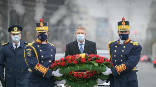 Depunerea coroanelor de flori, subiect de dezbatere legislativă în Parlamentul României
