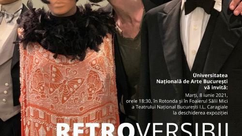 O expoziție excepțională se deschide pentru vizitare în Rotonda și în Foaierul Sălii Mici a TNB: RETROVERSIBIL