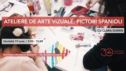 Limba spaniolă, prin intermediul atelierelor de arte vizuale și muzicale,  la Institutul Cervantes din București