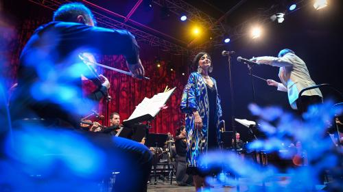 Soprana Teodora Gheorghiu revine pe scena Filarmonicii Sibiu