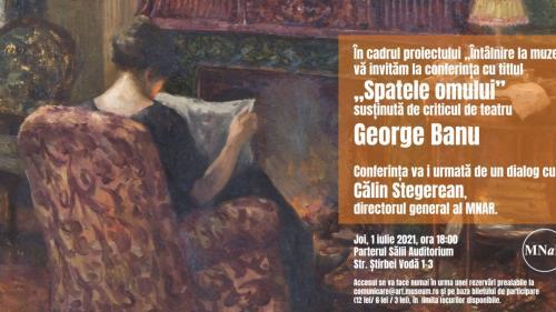 """Conferința """"Spatele omului"""" la Muzeul Național de Artă al României"""