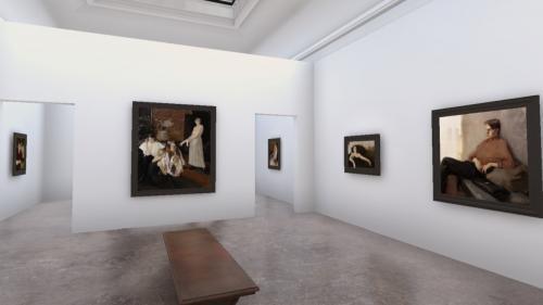 Expoziția-eveniment Elena Bria de la Arbor.art.room continuă în realitatea virtuală