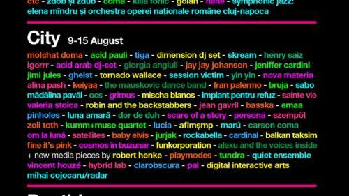 10 zile de muzică live şi sute de artişti ai momentului, la festivalul EC_Special