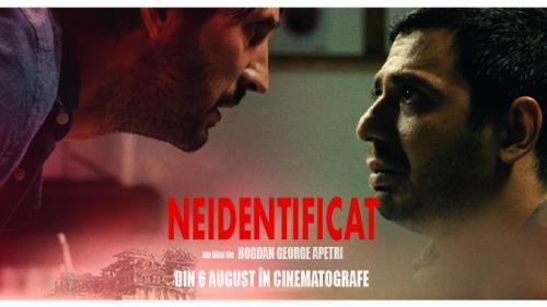 Mister, suspans și emoție: Neidentificat, din 6 august în cinematografe.  Premiera națională în competiția oficială TIFF -