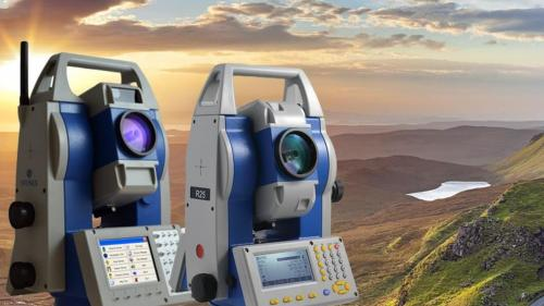 Accesorii topografice: receptorul GPS RTK de mare precizie
