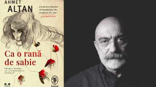 Eveniment editorial: primul volum al Cvartetului Otoman, romanul Ca o rană de sabie de Ahmet Altan,  a apărut în colecția ANANSI. World Fiction