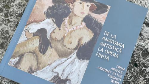 """Eveniment editorial: lansarea catalogului expoziției  """"De la anatomia artistică la opera finită"""""""