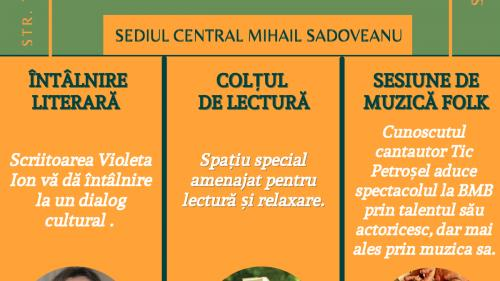 Biblioteca Metropolitană București, loc de viaţă culturală, de dialog şi de socializare