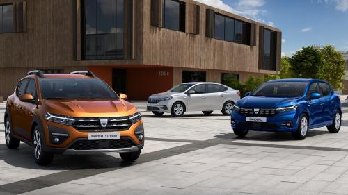 Dacia Sandero, cea mai bine vândută maşină la nivel european în iulie 2021