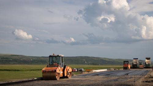 Autostrada Transilvania își sărbătorește majoratul cu șantierele pe ea