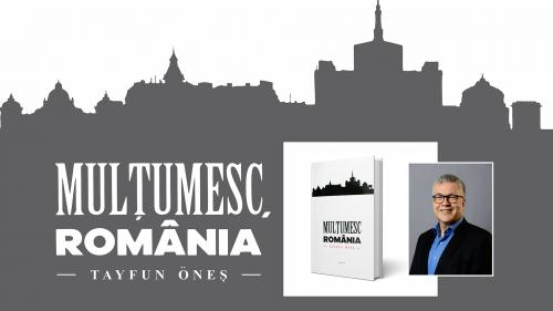 """""""România înseamnă mult mai mult decât Dracula, Ceaușescu sau Hagi.""""  (Tayfun Öneş, autorul volumului Mulțumesc, România)"""
