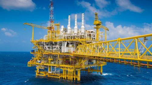 Instalarea platformei de producţie gaze naturale Ana în Marea Neagră a fost finalizată