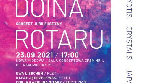 Concert aniversar Doina Rotaru la Varșovia