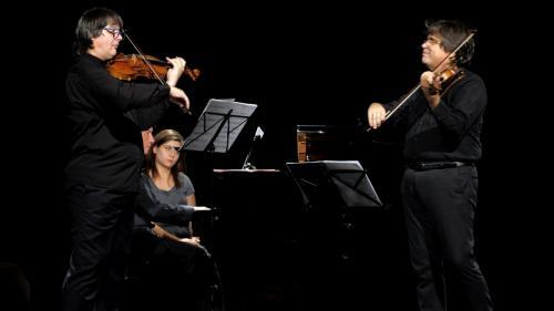 Duelul viorilor - Stradivarius versus Guarneri  la Sala Radio din Bucureşti pe 30 septembrie