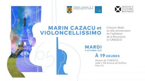 Periplul naţional şi internaţional Violoncellissimoîncepe pe 5 octombrie, la Paris