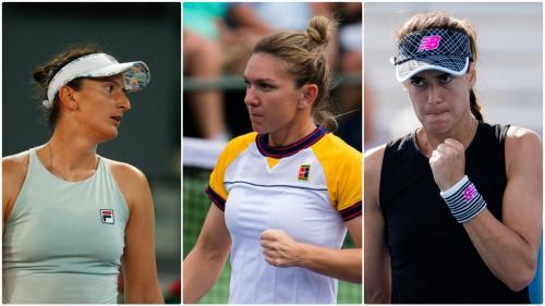 Zi neagră pentru românce la Indian Wells. Simona Halep, Sorana Cîrstea și Irina Begu, eliminate din turul al treilea