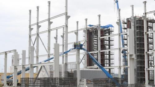 Lucrările la termocentrala Iernut sunt realizate în proporție de 70%. Când va fi finalizată