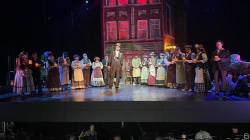 """""""My Fair Lady"""" strălucește pe scena TeatruluiNațional de Operetă și Musical """"Ion Dacian""""  16 și 17 octombrie 2021"""