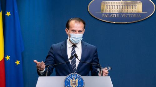 VIDEO Ce spune premierul interimar Florin Cîțu despre carantinarea Capitalei