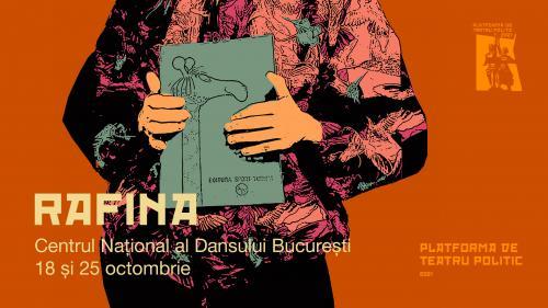 Premiera RAFINA. Despre neurodiversitate la Centrul Național al Dansului din București