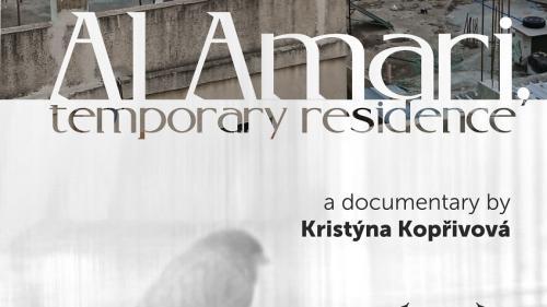 Documentarul Al Amari, reședință provizorie, co-producție Republica Cehă, România și Palestina, în premieră mondială la cea de-a 25-a ediție a Festivalului de Film Documentar de la Jihlava